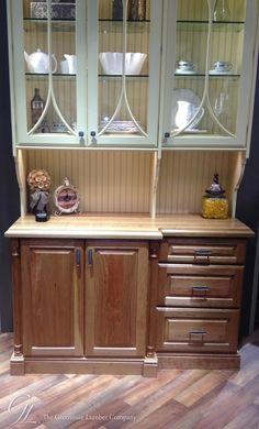White Oak Counter in Elkay Display Booth at KBIS 2014 https://www.glumber.com/