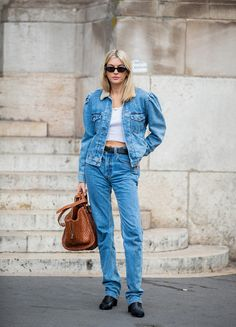 Spring 2021: This is what French women wear to jeans trends