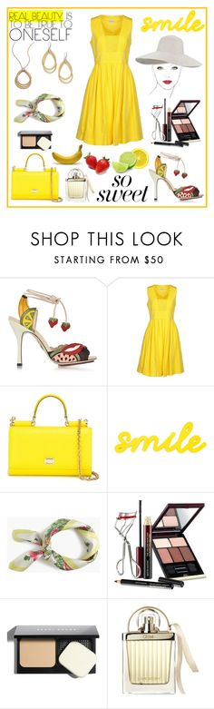 """""""Fruity Shoes"""" by rboowybe ❤ liked on Polyvore featuring Charlotte Olympia, Philosophy di Alberta Ferretti, Dolce&Gabbana, Chanel, J.Crew, Kevyn Aucoin, Bobbi Brown Cosmetics, Chloé and Martha Stewart"""