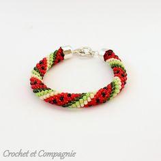 bijoux crochet fabrication