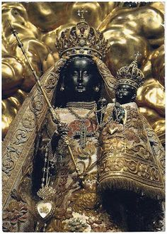 """african isis  The Black Madonna (Before whitewashing)  According to Stephen Benko, author of """"Pagan Rome and the Early Christians,"""" """"The Black Madonna is the ancient earth-goddess converted to Christianity.""""  Ivan Van Sertima in """"BLACK MADONNAS OF EUROPE: Diffusion of the African Isis"""" added:  """"The Black Madonnas of Europe have a tradition which goes back hundreds of years, before the advent of Christianity. The African Isis [Aset] was prototype for the Black Madonnas of Europe. As the…"""