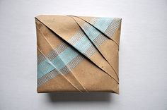 Washi Tape Wrapped Package