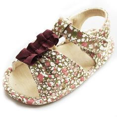 Soft Sole Toddler Baby Girls Princess Purple Floral Dress Sandals Shoes (12-18 months): Amazon.co.uk: Shoes & Bags