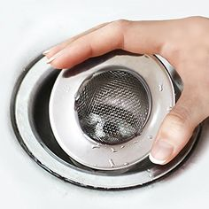 From 1.99 Trixes Sink Strainer For Shower Plug Hole Hair Catcher   Bath Or  Kitchen Sinks