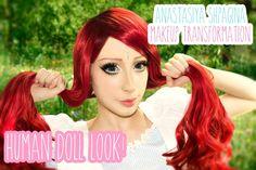 My Anastasiya Shpagina makeup tutorial: http://youtu.be/BKldT0KPCTU