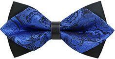 OCIA Handmade Men Casual Wedding Party Pre-tied Bow Tie…