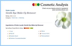 Oops – you better don't buy this one. (http://www.cosmeticanalysis.com/cosmetic-products/estee-lauder-gentle-eye-make-remover.html)