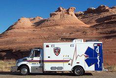 Page Fire Department - Page, Arizona - 2005 International Navistar Type I Medium Duty Ambulance  #nicerescue #firetrucks #setcom  http://setcomcorp.com/twin-talk-fire-wireless-headset.html