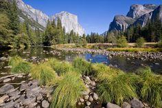 Yosemite Valley, California. USA