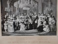 The Royal Family of Great Britain 1897