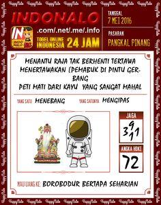 Prediksi Togel Online Live Draw 4D Indonalo Pangkal Pinang 7 Mei 2016