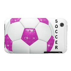 Case Mate Barely There Diamond Hot Pink Soccer Ball Cases for Christmas!  http://www.zazzle.com/diamond_gemstones_hot_pink_soccer_ball-179084183385626825?rf=238575087705003771