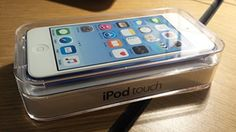 Apple iPod touch 32GB Blue (6th Generation) NEWEST MODEL  Apple iPod touch 32GB Blue (6th Generation) NEWEST MODEL iPod touch features a 6-mm ultrathin design and brilliant, 4-inch Retina display. Discover music, movies, and more from the iTunes Store, or