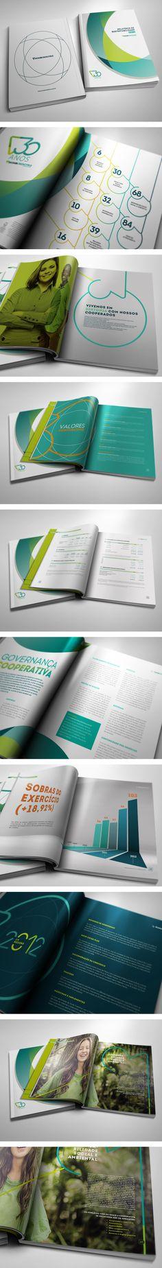 Sicoob Credicitrus Annual Report 2012 by Leonardo Moura Leite
