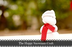 Page Not Found – Kate Eschbach A cute little snowman craft perfect for anyone! No-sew and fun for everyone! Crafts For Boys, Diy And Crafts, Party Activities, Activities For Kids, Halloween Christmas, Christmas Ornaments, Holiday Crafts, Holiday Decor, Snowman Crafts
