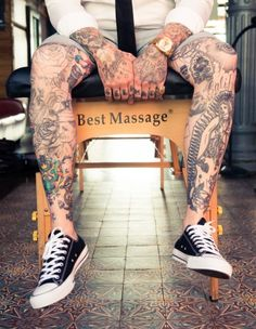 Man legs
