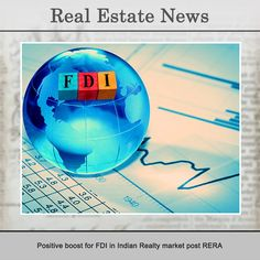 #RealEstateFacts- While the Indian Realty sector has been witnessing a slowdown over the last couple of years, a slew of initiatives such as the Housing for All by 2022, The Smart Cities Mission, RERA, Benami Transactions Act, Goods and Services Tax, to name a few, have attracted a number of foreign investors to the market.  Source – Reality Facts  #ArvindSmartspaces #RealEstateAhmedabad #RealEstateBangalore