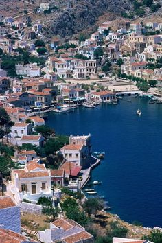 Symi Island, Greece Goris Goris Campbell Next Greece trip? Santorini, Mykonos, Places Around The World, Oh The Places You'll Go, Places To Travel, Places To Visit, Wonderful Places, Great Places, Beautiful Places
