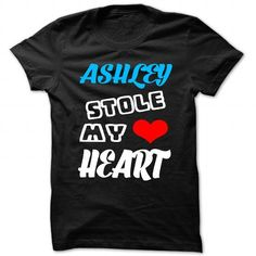 I Love Ashley Stole My Heart - Cool Name Shirt ! Shirts & Tees