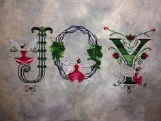 Nora Corbett alphabet - Christmas conversion