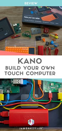Build your own touchscreen computer with the Kano Computer Kit Touch