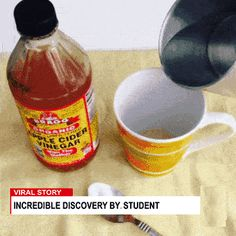 CNN reveals Student from Cornell University Incredible Cuts On budget Using Garcinia Diet Pill Formula. She combined Garcina and Cider for weight loss Best Weight Loss, Weight Loss Tips, Lose Weight, Lose Fat, Organic Apple Cider Vinegar, Water Weight, How To Make Tea, Health Remedies, Health Tips