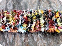 michele made me: Fabric Scrap Yarn Possibility #1