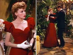 The most beautiful Christmas dress ever! Judy Garland's Christmas ball gown from Meet Me in St. Louis