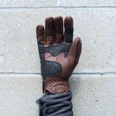 Roland Sands Dezel Glove, Tobacco