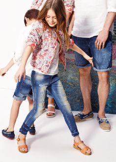 Laser-cut blouse #Kids #Girls #SS14