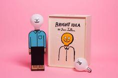 Case Studyo — 'Bright Idea' by Jean Jullien — Ghent, Belgium