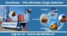 Aerolines - Multimodal Transporation Log on to : www.aerolines.ch