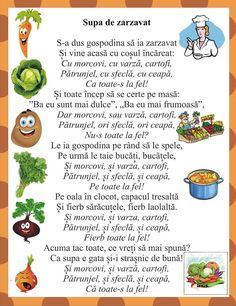 Gradinita Autumn Activities, Activities For Kids, Kindergarten Activities, Preschool, Projects For Kids, Crafts For Kids, Romanian Language, Kids Poems, Class Decoration