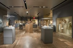 View a collection of Native American artifacts from a museum - Gallery for the Art of Native North America