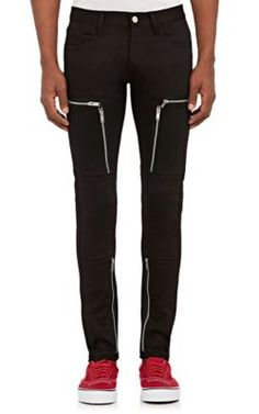 UNDERCOVER Multi-Zip Twill Skinny Jeans. #undercover #cloth #jeans