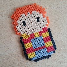 Ron - Harry Potter hama beads  by princesagalleta
