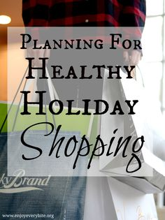 Five tips to choosing healthy foods while shopping for the holidays
