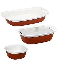 CorningWare Etch 4 Piece Bakeware Set #Dillards