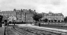 Old photograph of houses at Magdalen Green in Dundee , Scotland . All photographs are copyright of Sandy Stevenson, Tour Scotland, and m. Old Pictures, Old Photos, Dundee City, Old Photographs, Local History, Historical Photos, Great Britain, The Locals, Scotland