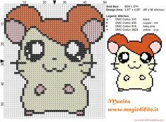 Hamtaro. Seriously, Monica is going to lose it when I give this to her!! Can't wait!