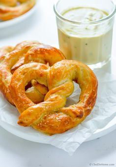 I munching on an extra soft homemade pretzel and sipping Chia tea while typing this post... and  kitchen is filled with pretzel-shop aroma... Aroma like I stepped into a fair and already knew - the...