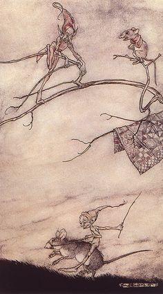 Impressive Fantasy Artworks by Arthur Rackham. - Socialphy