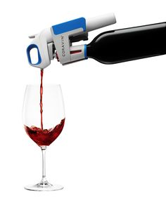 With the Coravin Wine System, you won't have to worry about wasting wine.
