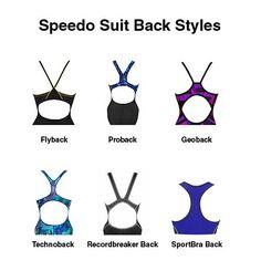 Speedo suit back styles