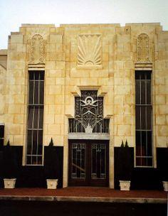 Kyle Building, Beaumont, Texas (Art Deco Architecture)
