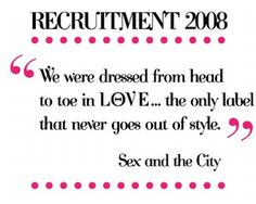 """We were dressed from head to toe in LӨVE...the only label that never goes out of style"""" - Sex & the City"""