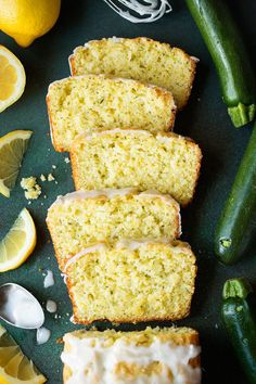 Easy to make sweet zucchini bread that& brimming with lemony flavor. The perfect use for fresh summer zucchini! Everyone loves this! Lemon Zucchini Bread, Lemon Bread, Zucchini Bread Recipes, Zuchinni Recipe, Zucchini Cookies, Zucchini Lasagna, Zucchini Boats, Apple Bread, Baking Flour