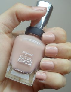 Sally Hansen Salon Manicure - Cafe Au Lait just got it and like it so far :)