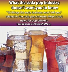 Soda, like beer, for many is an acquired taste. It is something people have to get used to, because as it seems, your body is rejecting it when first introduced.