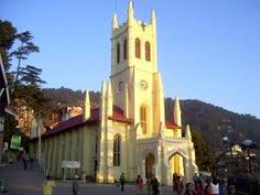 yuvrajtravelers Chandigarh: Places to Visit: Christ Church Shimla